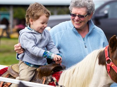 Treat your Grandparents to a free trip to the farm.